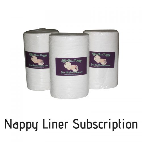 Effortless Eco Nappy Liner Subscription