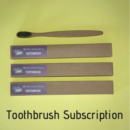 Effortless Eco Toothbrush Subscription